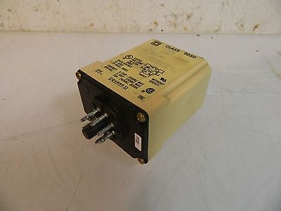 Square D Electrical Timing Relay, Class 9050, 9050JCK18V20, Ser A Used, Warranty