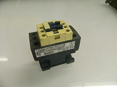 Telemecanique AC Magnetic Contactor, # LC1 D25 / LC1D25, 120 V Coil, Used