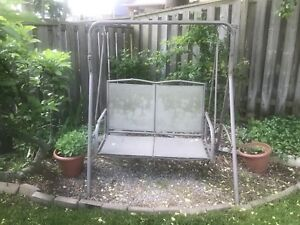 2 seater outdoor swing/seating!