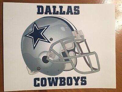Tin Sign Vintage Dallas Cowboys NFL 4