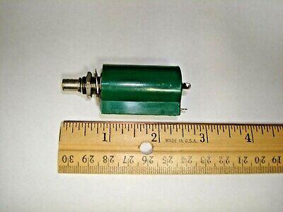 Clarostat 62ja-10k Rotary Potentiometer Wirewound 10 K Ohm 2w 5 10 Turn Linear