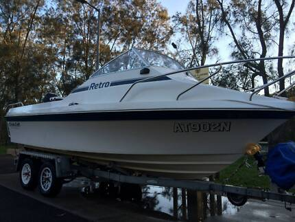 Cruise Craft 533 Reef Finder with Near New Suzuki 150 V6. Frenchs Forest Warringah Area Preview