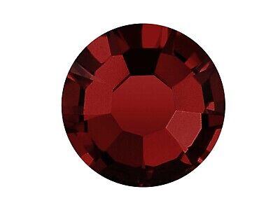 Siam, dark red Preciosa Genuine Czech Viva Flatback Rhinestones 12ss 16ss 20ss