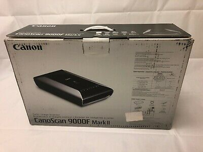 Canon CS9000FMK2 Flatbed Scanner CanoScan 9000F Mark II 9600 dpi CCD from Japan