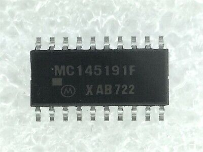 Mc145191f Motorola Ic Pll Frequency Synthesizer 10 Pieces