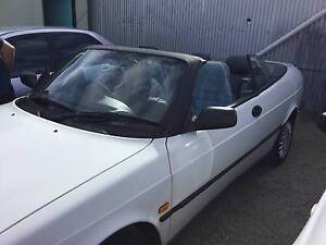 1995 SAAB 900 S CONVERTABLE AUTO AWESOME LITTLE CAR Silver Sands Mandurah Area Preview