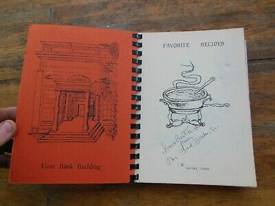 Vintage Tallahassee Florida Carriage Gate Gifts Cook Book