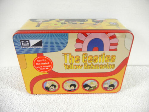 """Beatles YELLOW SUBMARINE MPC Model in """"Imagine"""" Collector's Tin with Mini-Poster"""