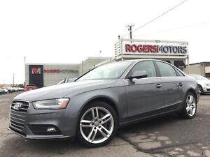 2013 Audi A4 2.0T QTRO - 6SPD - NAVI - LEATHER - SUNROOF