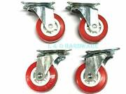 4 pc 3 inch poly caster swivel wheel-brand new Brunswick Moreland Area Preview