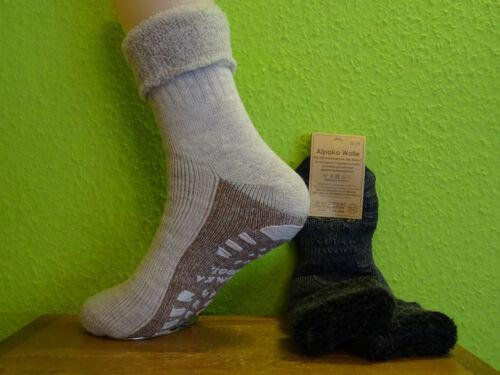 ABS Alpaka Umschlag Socken Schafwolle Herren Damen Gr 35 46 Socken Wollsocke neu