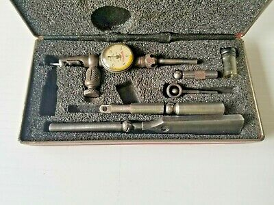 Starrett Last Word 711 Dial Test Indicator With Case