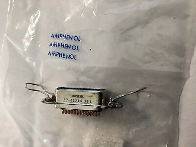 Amphenol 57-40240 Connector 24 Pin With Latch 57-40240-9. New