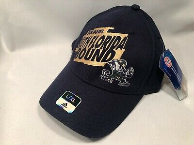 NOTRE DAME ADIDAS BCS BOUND STRETCH FIT HAT CAP L/XL *SHIPS IN BOX!* Adidas Stretch Hat