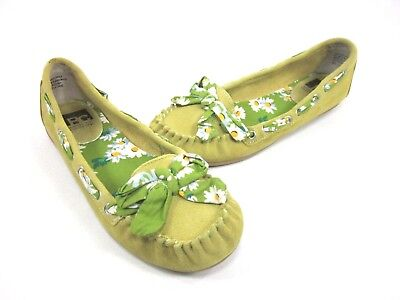 BC FOOTWEAR WOMEN'S MAKE NO MISTAKE BALLET FLAT, LIME, US 8.5 M, NEW/DISPLAY for sale  Shipping to India