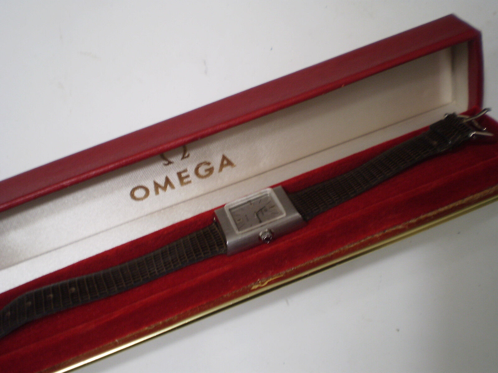 Omega orologio Vintage De Ville Donna con scatola meccanico carica manuale