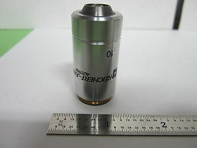 Microscope Reichert Jung Objective 10x Dic Infinity Optics Binf4-28