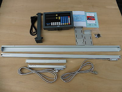 """Digital Read Out System Kit for lathe. 2-Axis,fit  15""""x40"""",14""""x40"""".13""""x40"""" lathe"""