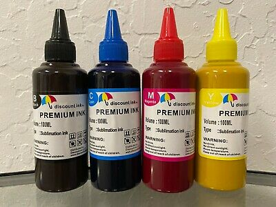 400ml Sublimation Refill Ink Compatible All Epson Cartridges 7720 7710 2720