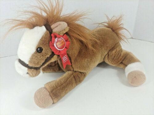 Wells Fargo Legendary Pony Plush Stuffed Animal Horse Pony MACK 2012 w Button