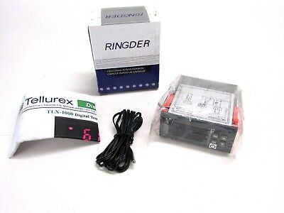 Ringder Digital Temperature Controller -58 To 230f Stc-1000