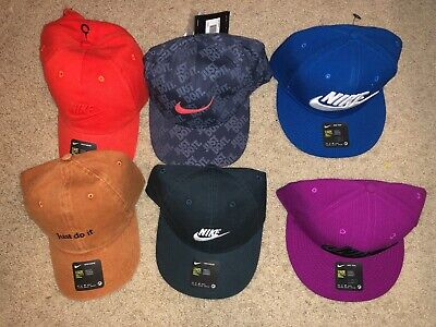 NEW NIKE HATS LOTOF 6 - JUST DO IT - RARE!