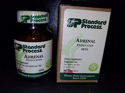 Standard Process ADRENAL DESICCATED 90 Tablets *EXP 12-01-20, SAME DAY FREE SHIP