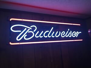 BUDWEISER VINTAGE NEON SIGN Brand NEW in Box