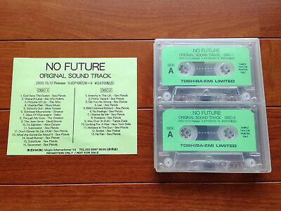 NO FUTURE Sex Pistols The Filth and Fury O.S.T Japan Promo Double Cassette RARE