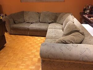 Large  comfortable sectional for sale Negotiable