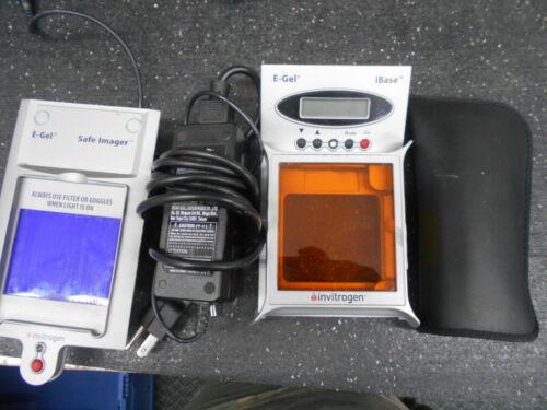 INVITROGEN E-GEL SAFE IMAGER IBASE PROTECTION LID ELECTROPHORESIS UNIT