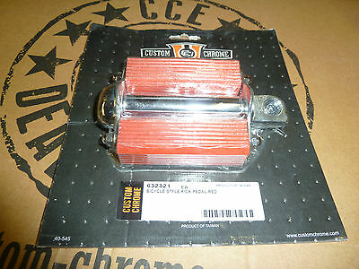 RED  KICK START PEDAL FOR TRIUMPH BSA AND OTHER MOTORCYCLES