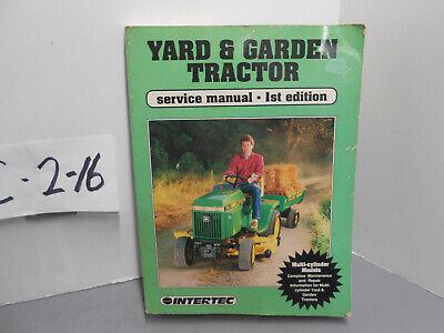 Intertec Multi Cylinder Yard Garden Tractor Service Manual Vol 2 1st Ed 1991