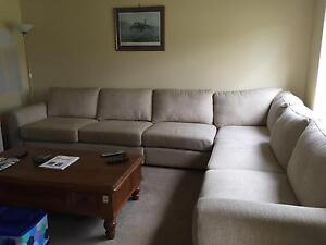 Corner sofa Prestons Liverpool Area Preview
