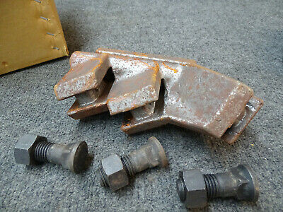 Pengo 155900 22 Md Shank Plate 22x2 3 Teeth 3 Bolt New With Rust