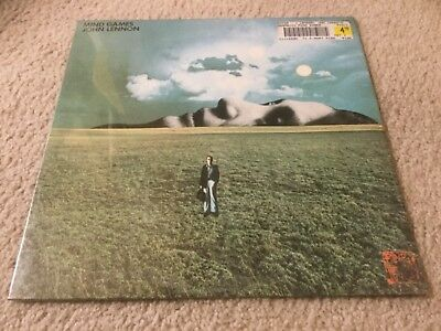 JOHN LENNON Care for GAMES VINYL RECORD LP SEALED apple beatles