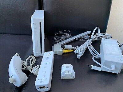 *** Nintendo Wii Console - White - Complete working system motion plus ***