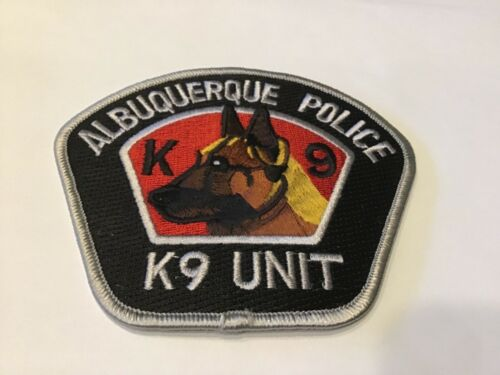ALBUQUERQUE  POLICE K9 UNIT PATCH