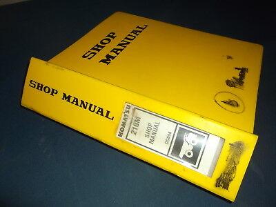 Komatsu 210m Dump Truck Service Shop Repair Workshop Manual