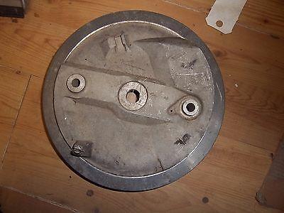 TRIUMPH NOS T120 BONNEVILLE TR6 TLS 8 FRONT BRAKE PLATE 1968   37 199