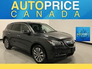 2016 Acura MDX Navigation Package MOONROOF NAVIGATION LEATHER