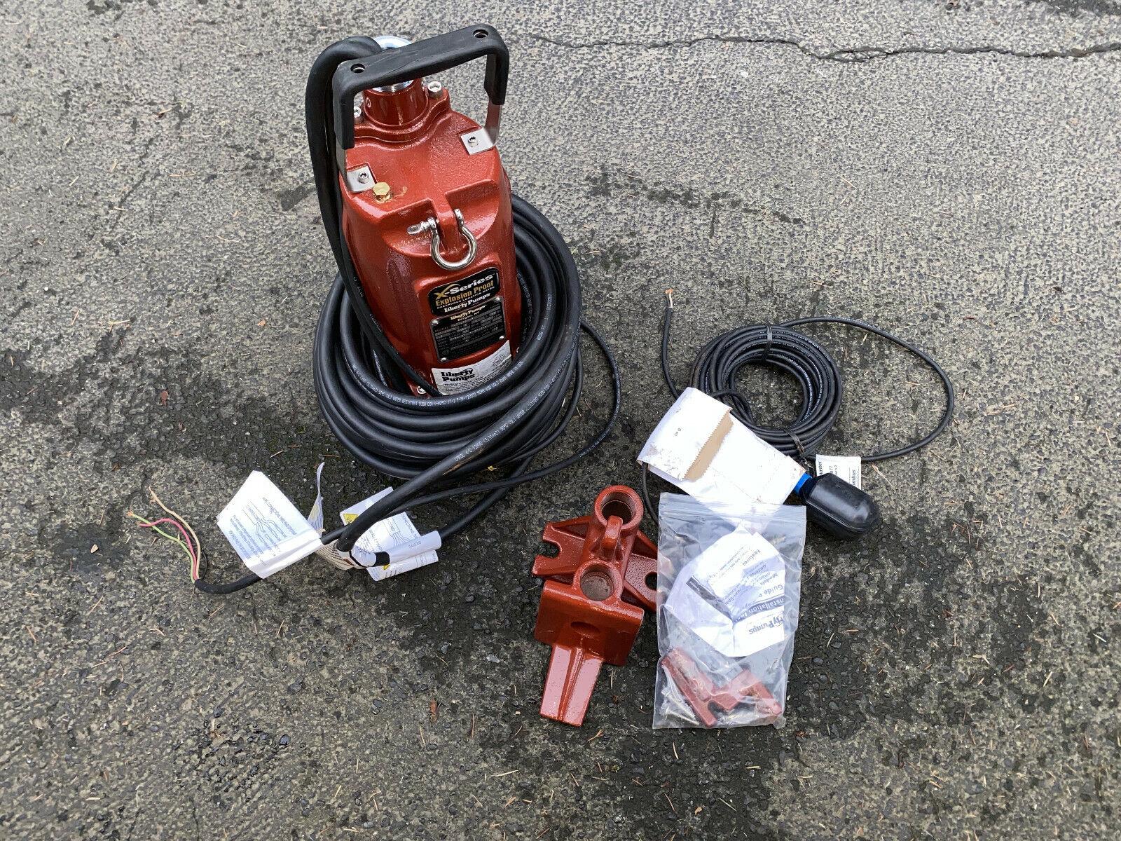 LIBERTY XLSG203M GRINDER PUMP 50' Cord, 2HP, 200/230V, Hazar