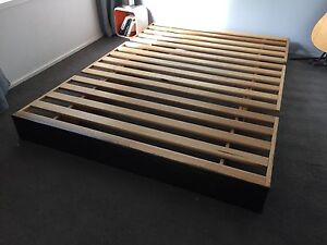 Japanese style futon bed frame, transforms to couch