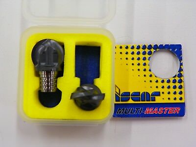 2 Piece Pack Of Iscar Multi-master Mm Hbr.750-2t10 Ic908 Carbide 34 D115