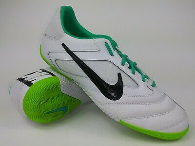 hot sales 20457 7fa7d Nike Mens Rare Elastico PRO 415121-103 White Green Indoor Soccer Shoes Size  9.5