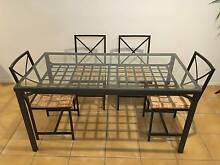 PRICE CUT - NOW $85 - 5 pcs Dining Table Set with 4 Chairs Parkinson Brisbane South West Preview