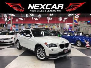2015 BMW X1 DRIVE AUT0 AWD LEATHER PANO/ROOF BLUETOOTH 44K