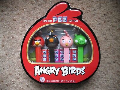 PEZ Retired Original Angry Birds (Limited Edition) - Mint In Metal Case