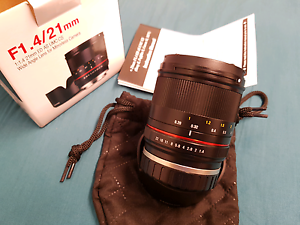 Samyang 21mm f/1.4 E-Mount lens for Sony NEX / A series Newmarket Brisbane North West Preview