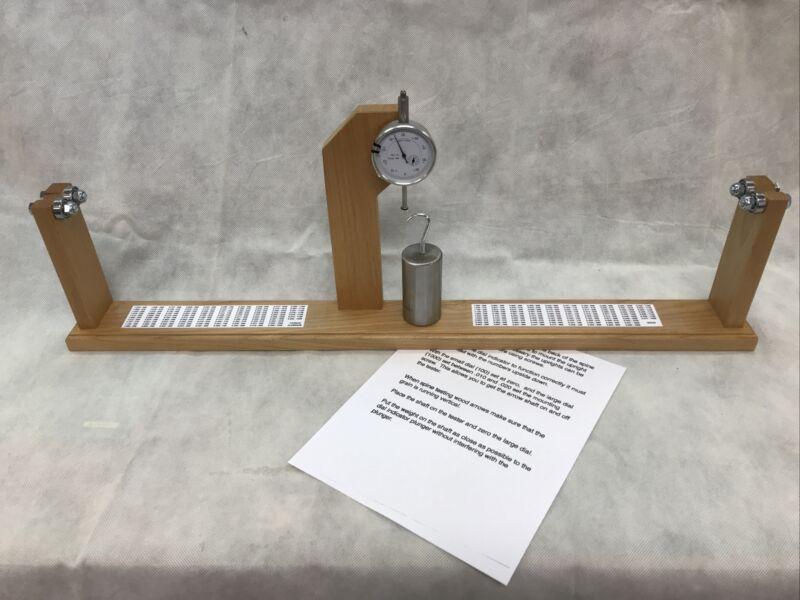 Arrow Spine Tester Spin Tester Archery, Wood Carbon Aluminum Shafts Spine Index